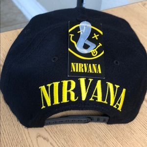 Accessories - Nirvana grunge rock band snapback hat urban music 5703460f5a2e